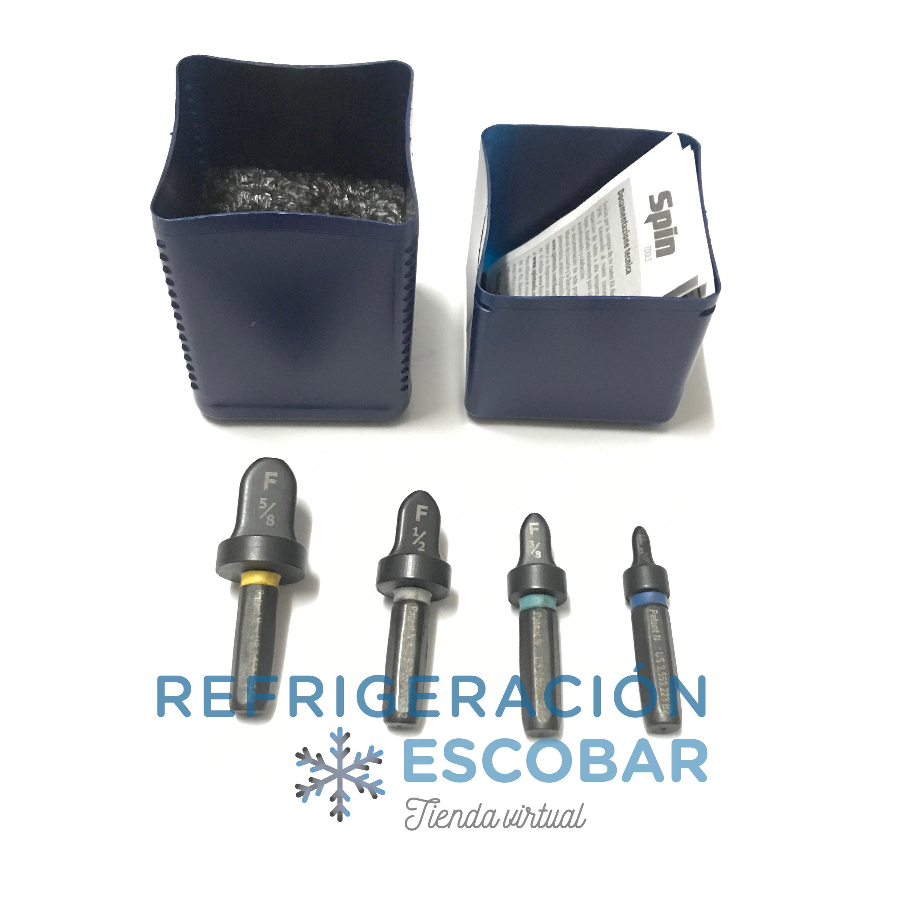 Pestañadora Spin F4000 Refrigeracion R410a Para Agujereadora
