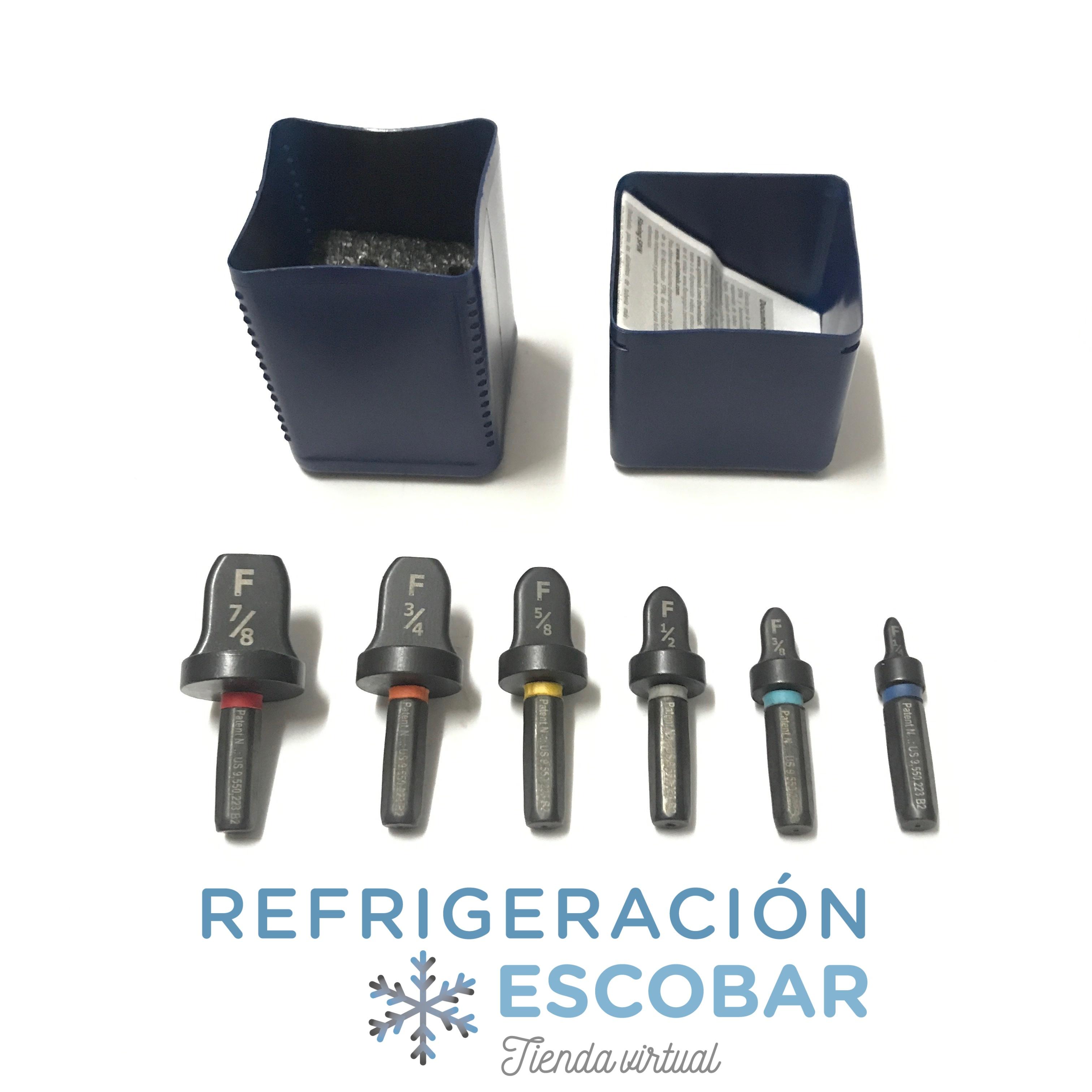 Pestañadora Spin F6000 Refrigeracion R410a Para Agujereadora