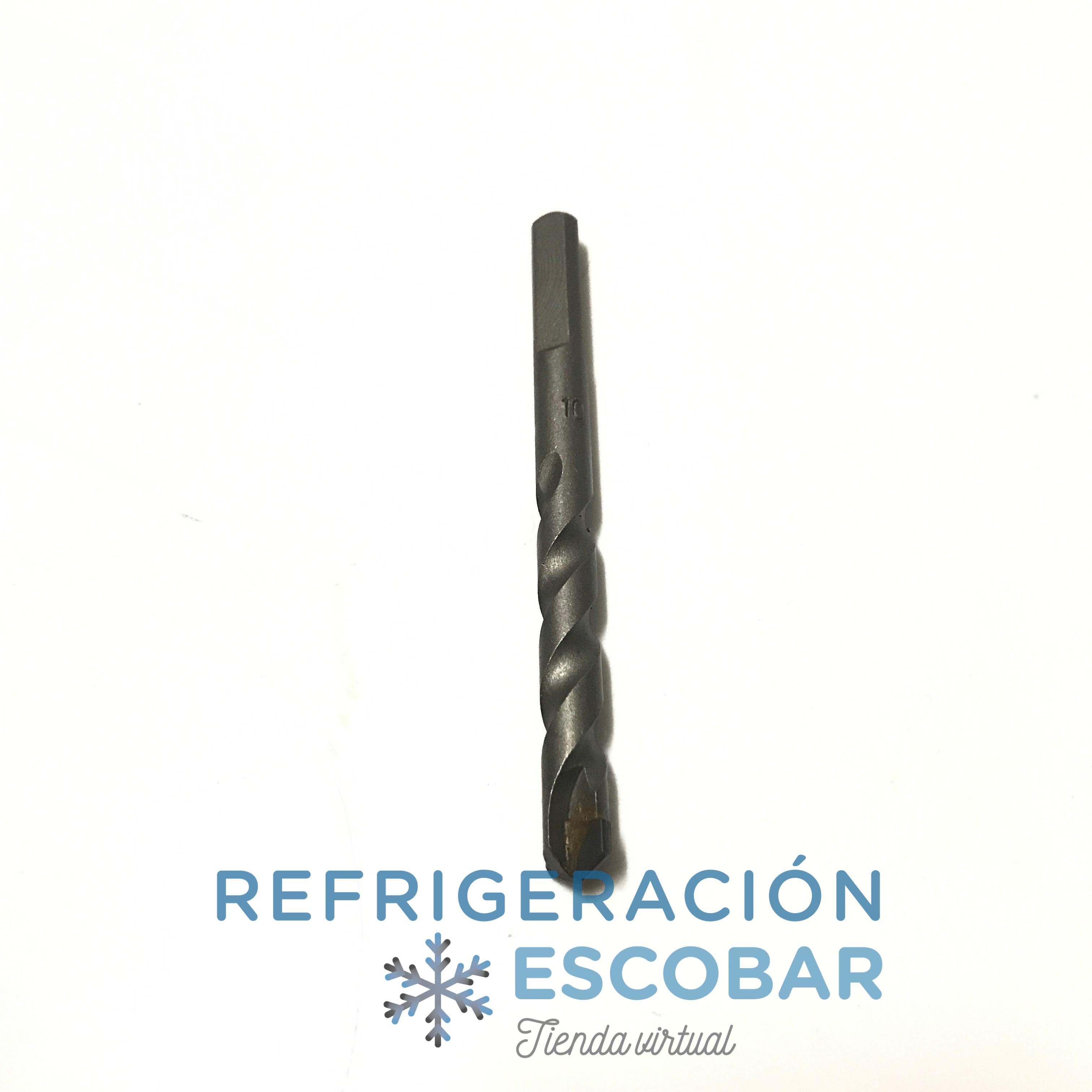 BROCA DE WIDIA  10 X 110 MM - ENCASTRE TRIANGULAR