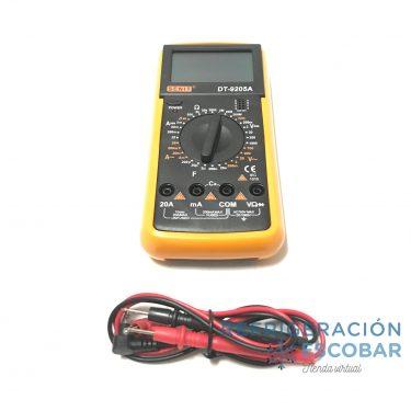 CAPACIMETRO DIGITAL CON TESTER DT-9205A